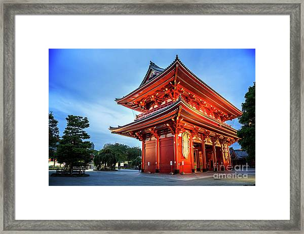 Sensoji Temple Framed Print