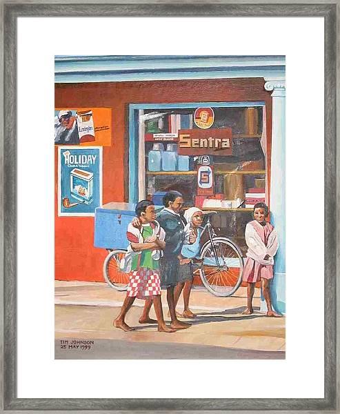 Sentra Framed Print
