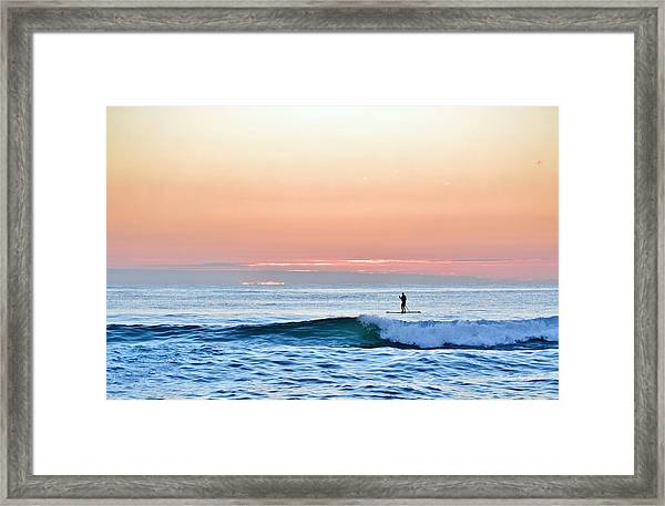 September 14 Sunrise Framed Print