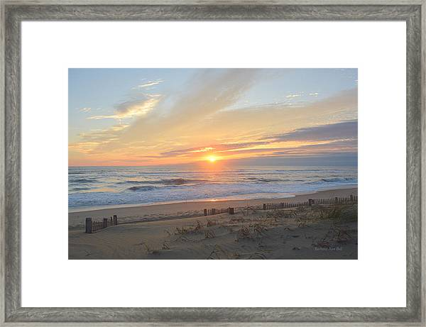September Sunrise  30 Framed Print