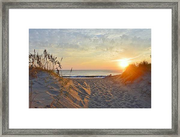 September Sunrise Framed Print