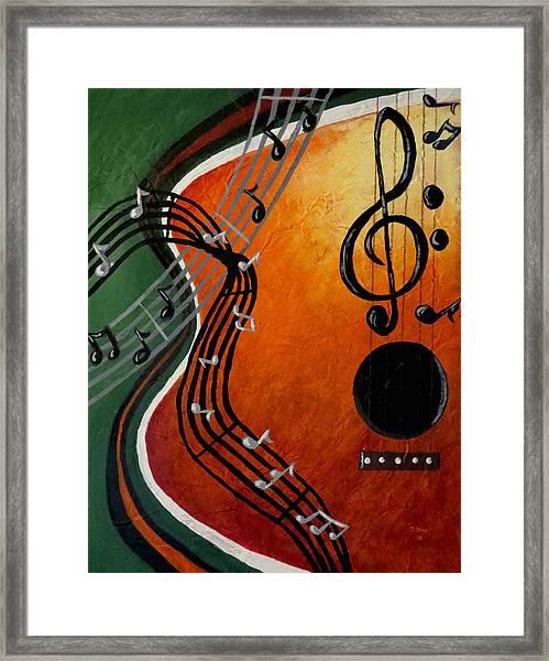 Serenade Framed Print