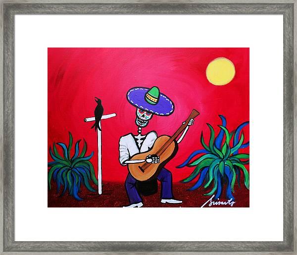 Serenata Painting Framed Print