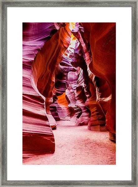 Serene Light Framed Print