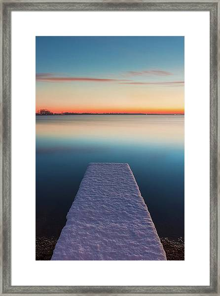 Serene Morning Framed Print