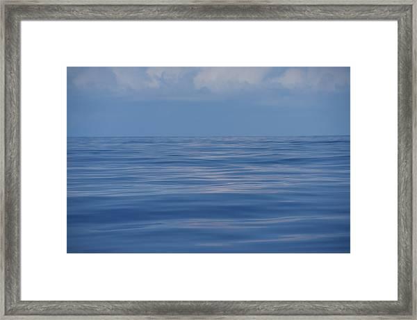Serene Pacific Framed Print