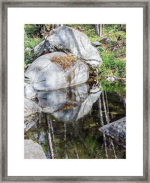 Serene Reflections Framed Print