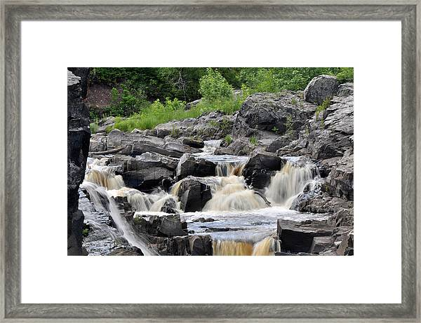 Serenity At Jay Cooke Framed Print by John Ricker