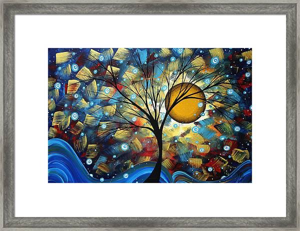 Serenity Falls By Madart Framed Print