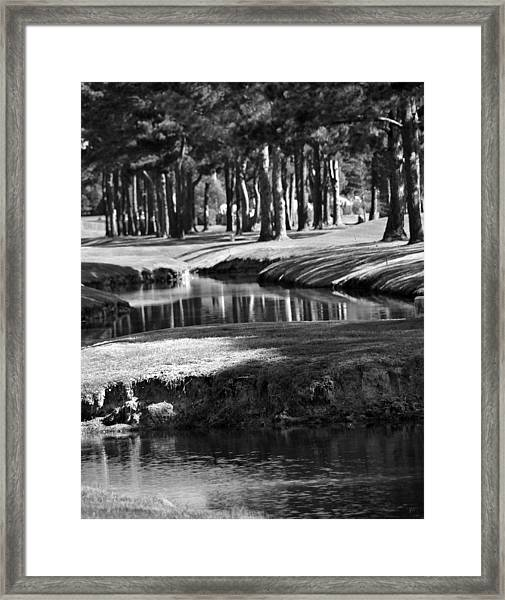 Serenity - It Is Autumn Framed Print
