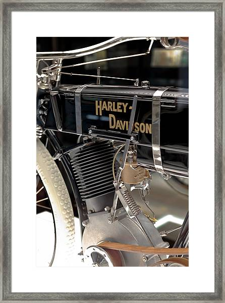 Serial Number One Framed Print