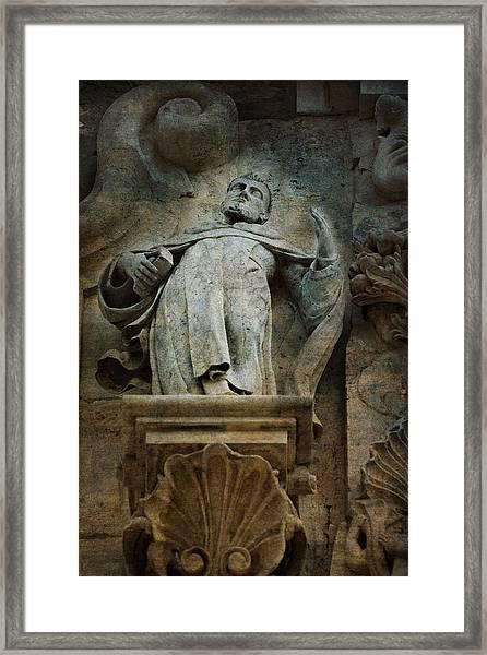 Sermon In Stone Framed Print