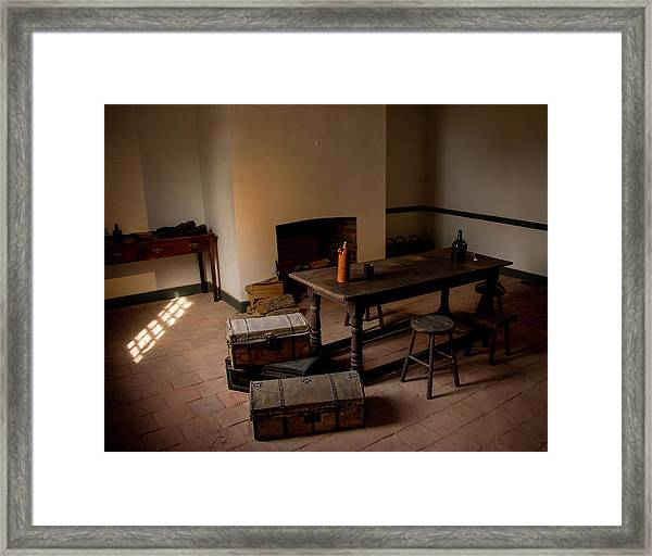 Servant's Hall Framed Print