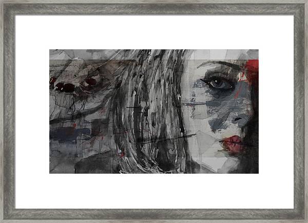 Set Fire To The Rain  Framed Print