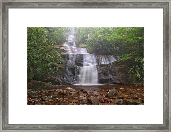 Setrock Creek Falls  Framed Print