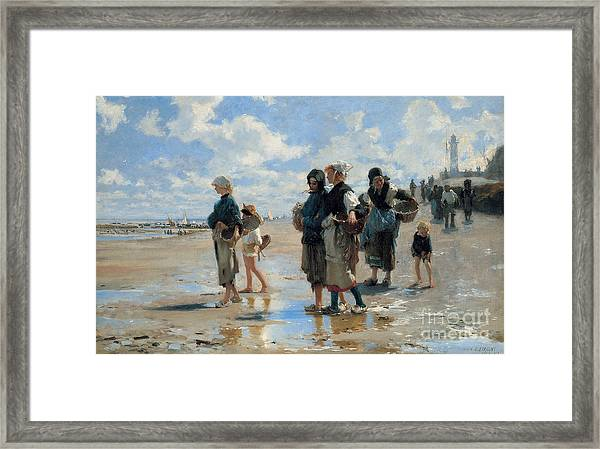 Setting Out To Fish Framed Print