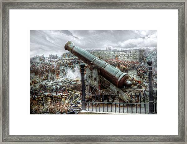 Sevastopol Cannon 1855 Framed Print