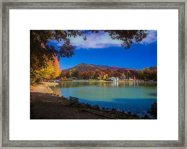 Seven Sisters From Lake Tomahawk Framed Print