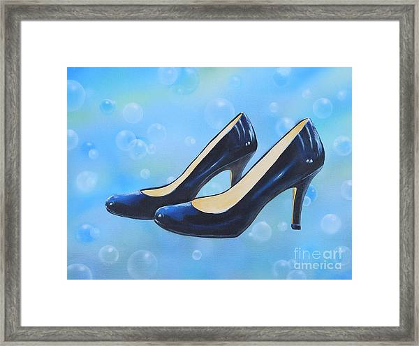 Sexy Shoes Framed Print
