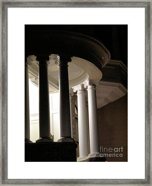 Sf Nightwalk Framed Print