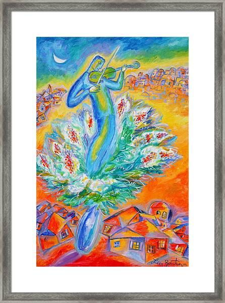 Shabbat Shalom Framed Print