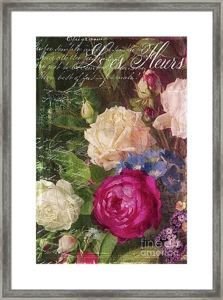 Shabby Garden Framed Print