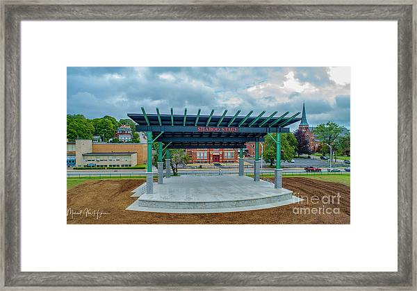 Shaboo Stage  Framed Print