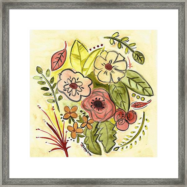 Shades Of Bronze Framed Print