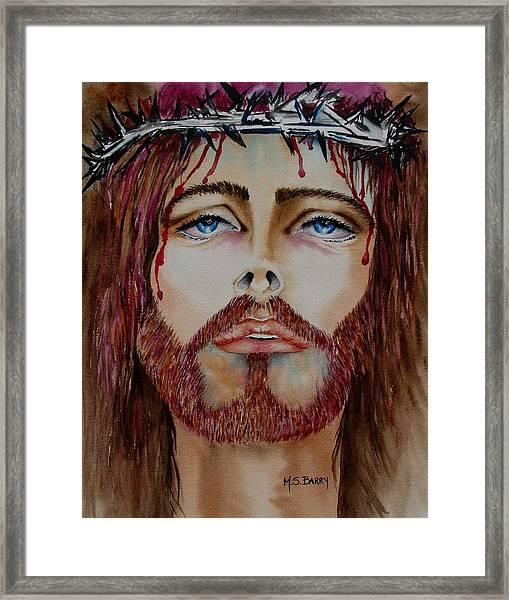 Shades Of Jesus Framed Print