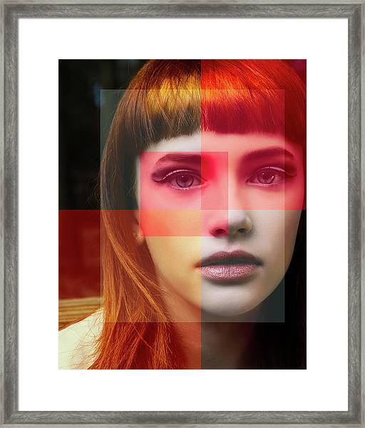 Shades Of My Soul Framed Print