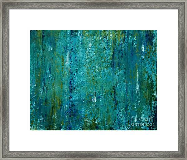 Shades Of The Sea Framed Print