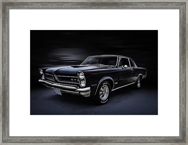 Shadow Rider Framed Print