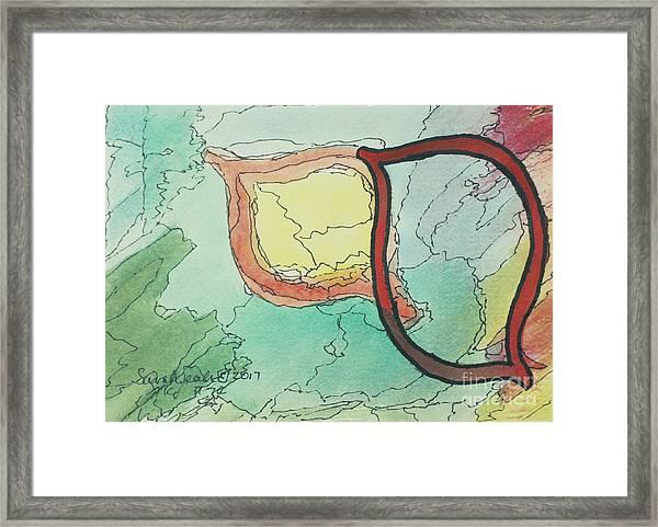 Shadow Yud Framed Print