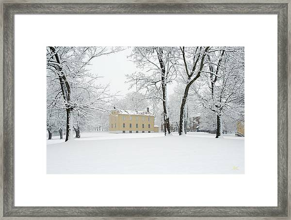 Shaker Winter Framed Print