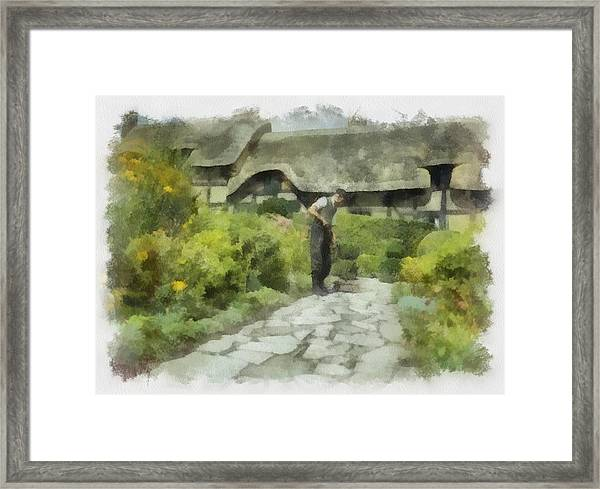 Shakespeares Home In Wwii Framed Print