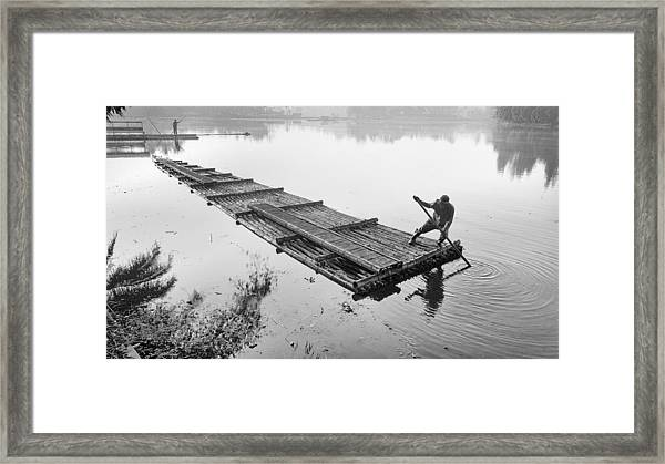 Shallow Water Framed Print by Andy Wijono