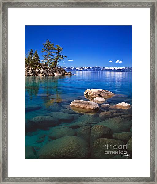 Shallow Water Framed Print