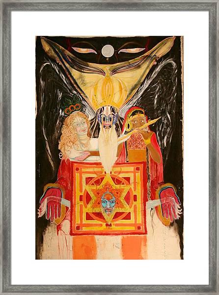 Shambala Overlord Framed Print