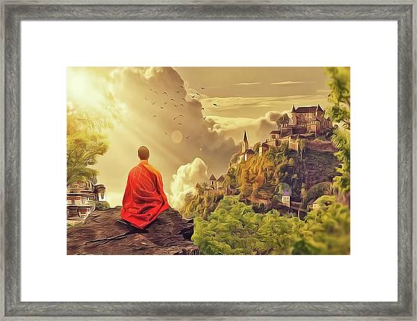 Shangri La Framed Print