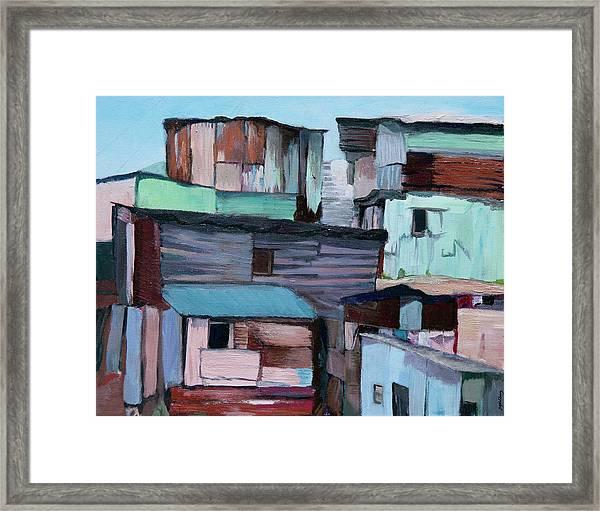 Shanties Framed Print