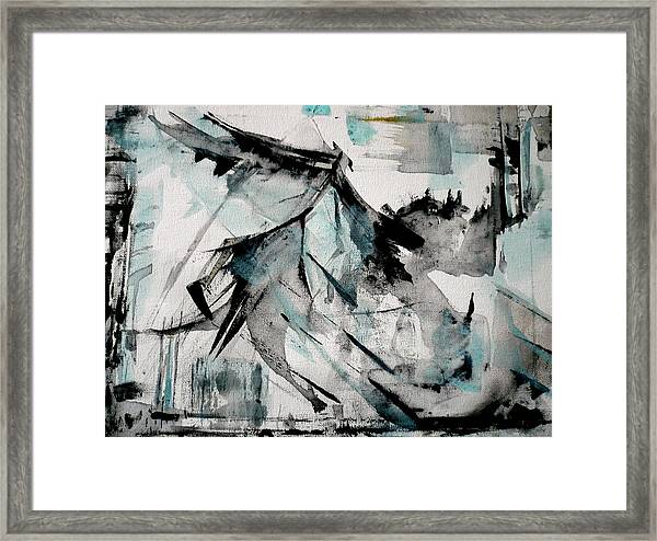Shapeshifter Framed Print