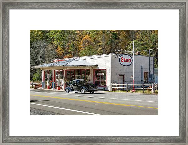 Sharp's Country Store Framed Print