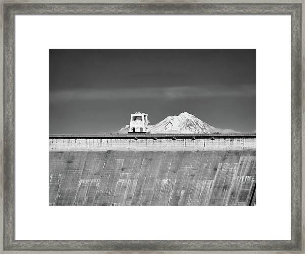 Shasta Dam  Framed Print