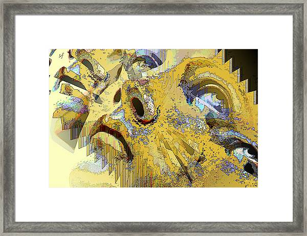 Shattered Illusions Framed Print