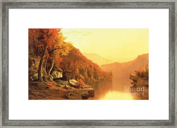Shawanagunk Mountains Framed Print