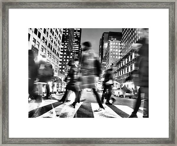 She Left Framed Print