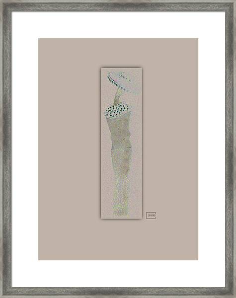 She Spoke Framed Print