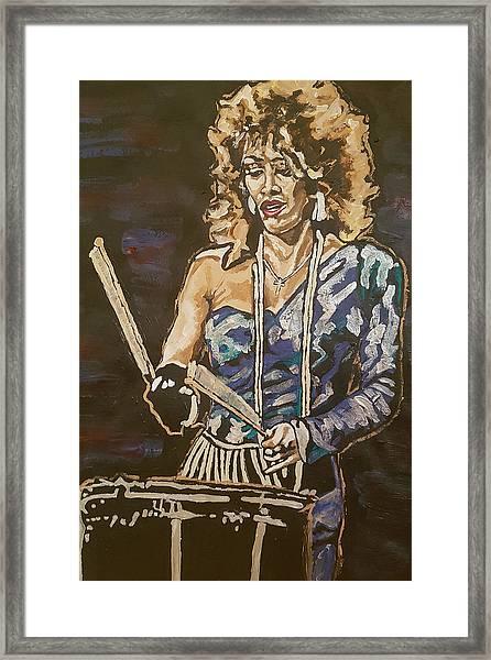 Sheila E Framed Print