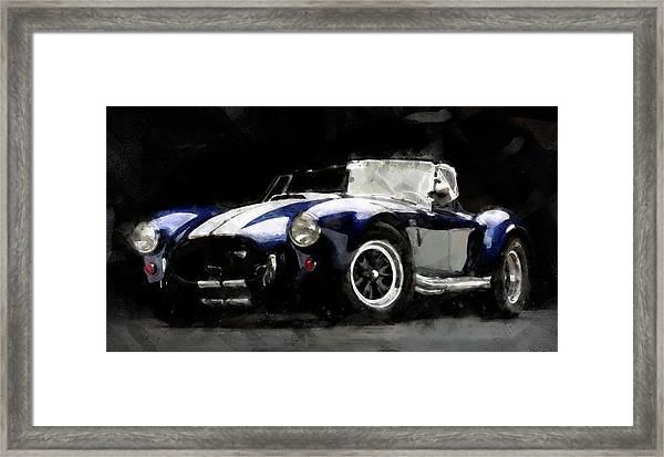 Shelby Cobra - 07 Framed Print