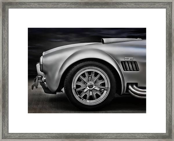 Shelby Cobra Gt Framed Print